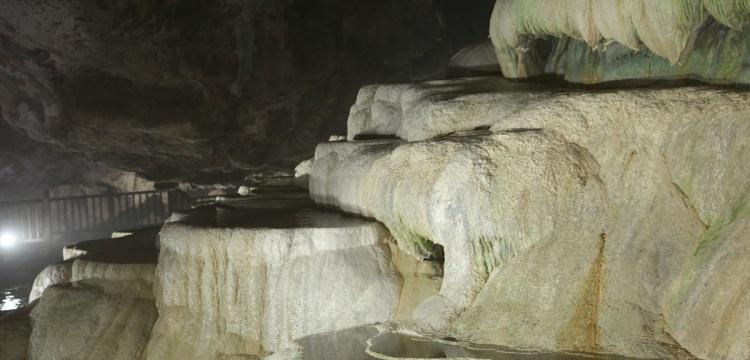 Yer altındaki Pamukkale: Kaklık Mağarası
