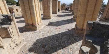 Dünyanın en büyük mozaik tablosu Filistinde açıldı