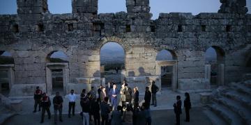 Numan Kurtulmuş Kibyra Antik Kentini Ziyaret Etti