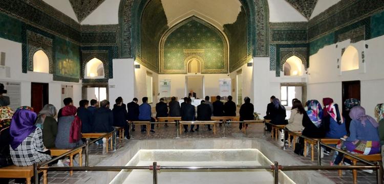 Konya Karatay medresesinde bir asır sonra ilk ders