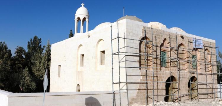 Şanlıurfa Çarmelik Kervansarayı'nda restore ediliyor