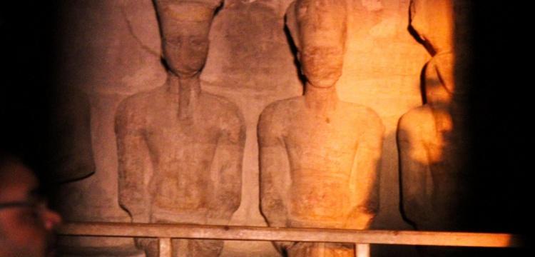 İkinci Ramses'in taç giyme partisine 3 bin kişi katıldı