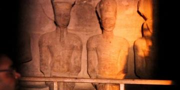 İkinci Ramsesin taç giyme partisine 3 bin kişi katıldı