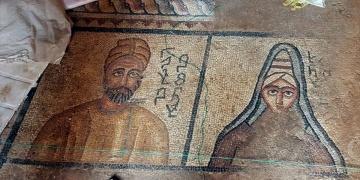 Abgar Krallığı dönemine ait taban mozaiği bulundu