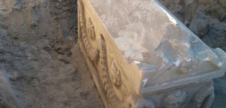 Karaman'da tarihi eser operasyonunda lahit ve testi ele geçirildi