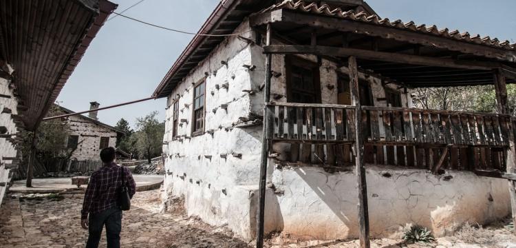 Antalya Düğmeli evleri yılda 50 bin kişi ziyaret ediyor