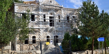 Yozgatta tarihi konak restore ediliyor