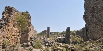 Lyrboton Kome Antik Kenti ortaya çıktı