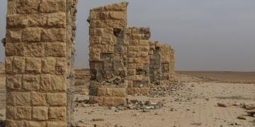 Nemrud antik kenti büyük oranda tahrip edilmiş