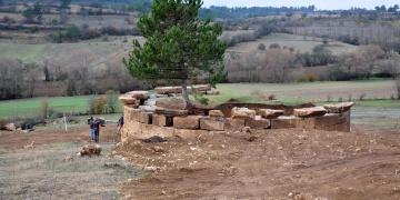 Kastamonuda Paflagonya dönemine ait mezar odası bulundu