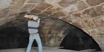 Mardinde ahırın altında 15 asırlık su sarnıcı bulundu