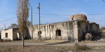 Iğdırda tarihi hamamın restorasyonu göçü önlemek isteyen köylülere umut oldu