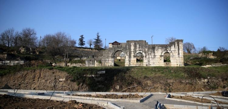 Düzce Prusias ad Hypium Antik Kenti'nde arkeopark kuruluyor