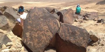 Çölde 2000 yıl öncesine ait yaşam izleri bulundu