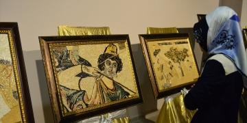 Mozaikler tablolara dönüştürüldü