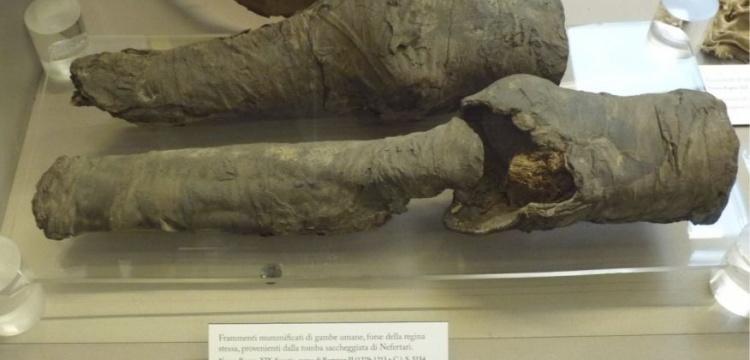 Bu bacaklar Kraliçe Nefertari'nin olmalı!