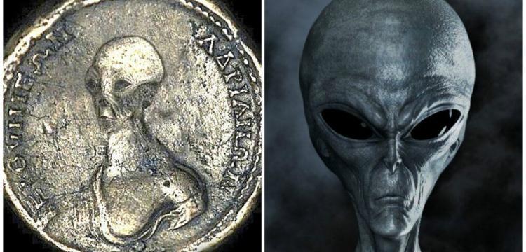 Uzaylı istilası antik sikkelere sıçradı!