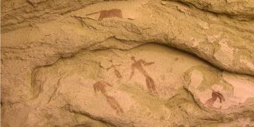 Hz. İsadan 3 bin yıl önceki İsayı andırır çizim