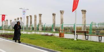 Soli Pompeipolisin çevresi düzenlendi