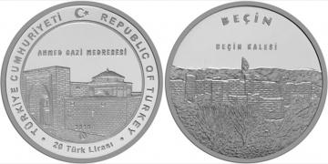 Beçin Kalesi için hatıra para basıldı