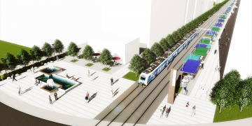 Antalyaya müze konseptli cadde