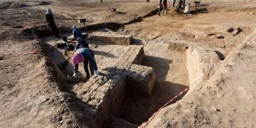 Irakta Tanrıça Nansheye adanmış tapınak bulundu