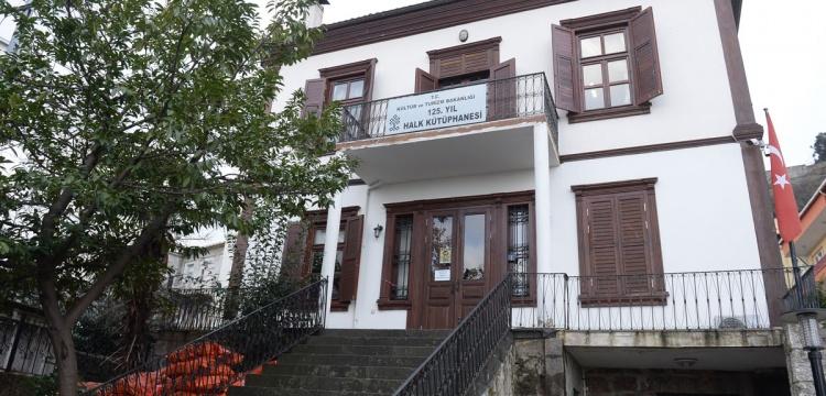 Giresun'da tarihi binalar kütüphane oldu