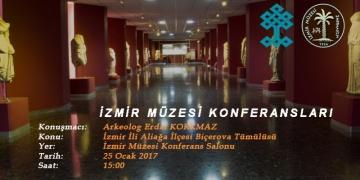 İzmir Müzesi 2017 yılı konferansları başlıyor