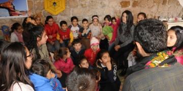 Mardinde Öğrenciler Arkeoloji Müzesini Gezdi