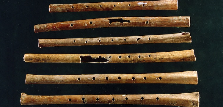 Neolitik Çağdan kalma flütü dinlemek ister misiniz?