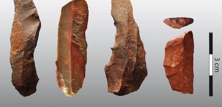 Paleolitik dönemde de ısıl işlem yapılmış