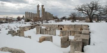 Uzuncaburç - Diocaesarea kışın bir başka güzel