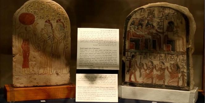 Kahirede Dinlerin Beşiği Mısır Sergisi