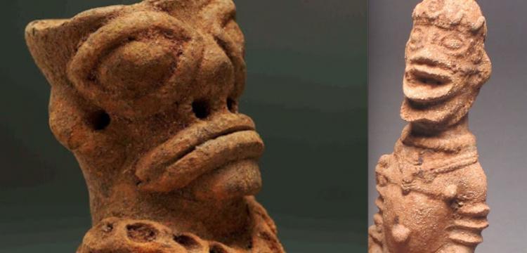 Afrika'da prehistorik çağda kıtalararası ticaret izi.
