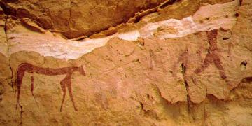 Gilf Kebirdeki kaya resimleri tarihlendirildi