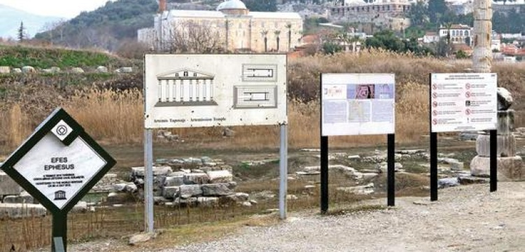 Hürriyet'e göre Efes: Bataklık harikası