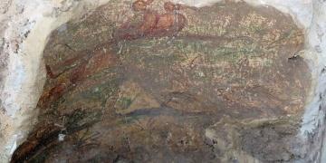 İsrailde Roma evi ve fallus şekilli muskalar bulundu