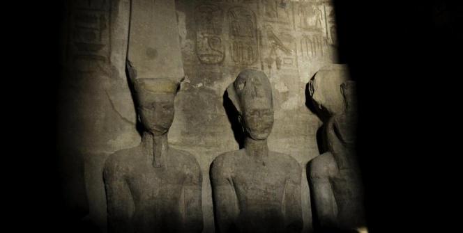 II. Ramses heykeline bahar güneşi vurdu