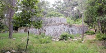 Kemerdeki Selçuklu Av Köşkünde sarnıç bulundu