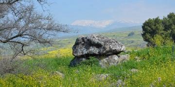 İsrailde devasa dolmen bulundu