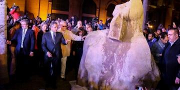 Mısırda bulunan heykel I. Psamtike ait olabilir