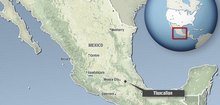 Meksika'da antik senato kalıntısı bulundu