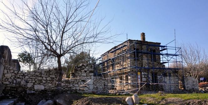 Muğlada hanım ağa evi restore ediliyor