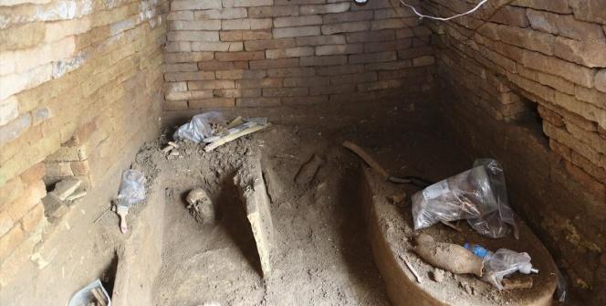 Erbilde Asuri dönemine ait 9 mezar bulundu