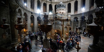 Kudüs Kıyamet Kilisesi Kısmi Restore Edildi