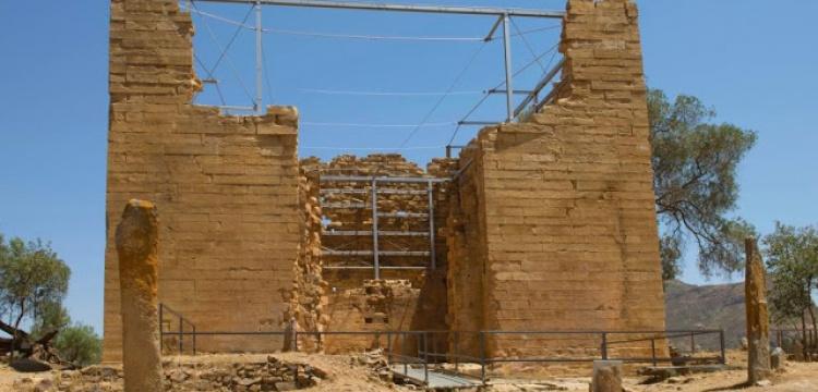 Etiyopya'daki Almaqah Tapınağı restore edildi
