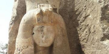 Tutankamonun ninesi sanılan heykel