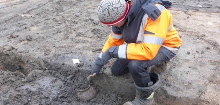 Hollandalı Arkeologları şaşırtan Roma eserleri