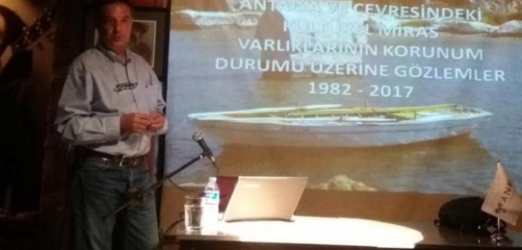 Arkeolog Ümit Işın, bilinçsizlik manzaraları sundu