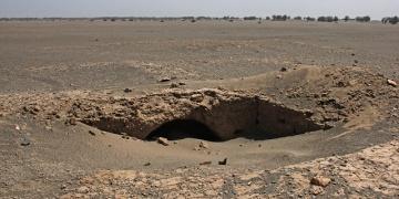 Kum fırtınası, İranda antik kenti açığa çıkardı